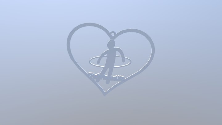 I Heart Chulahoops 3D Model