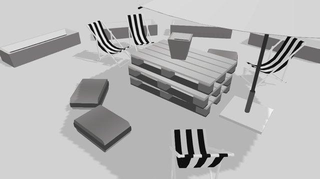 Silently 3D Model