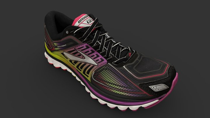 Brooks Shoe 3D Model
