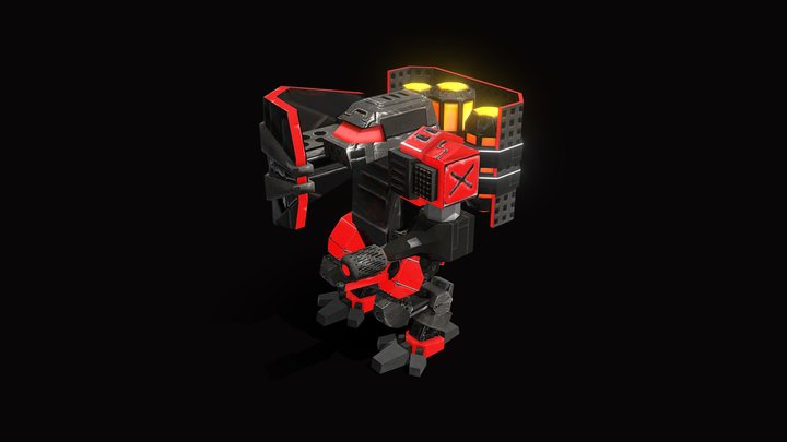 RED | Pyro 3D Model