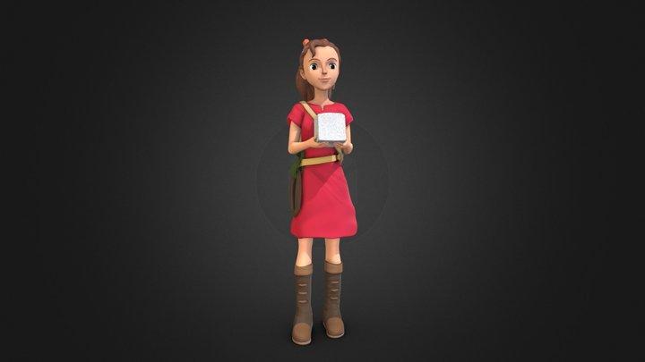 Arrietty(The Secret World of Arrietty) 3D Model