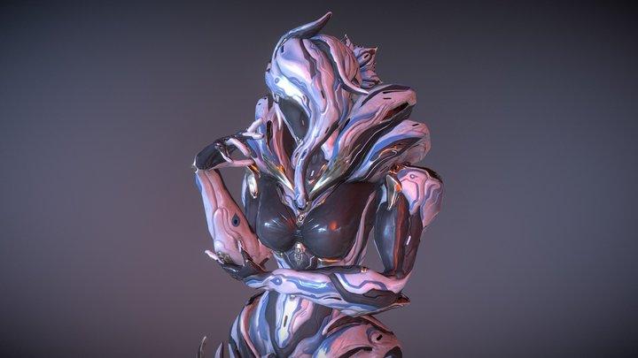 Saryn Napellus 3D Model