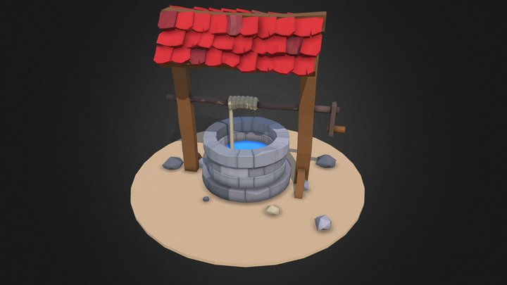 A Well. 3D Model