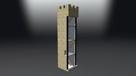 Torre di Tione degli Abruzzi 3D Model