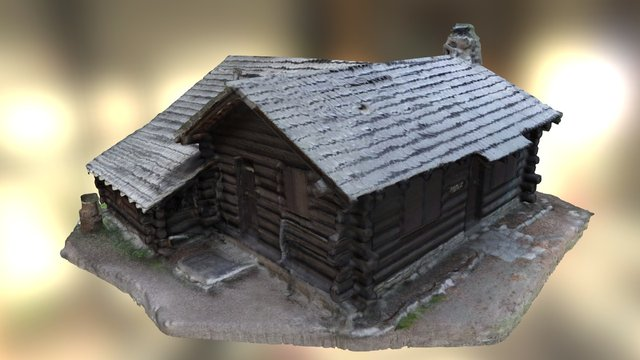 Merced Lake Ranger Station Yosemite 3D Model