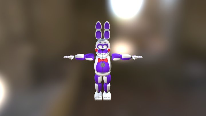 Fnaf-sister-location-funtime-bonnie (1) 3D Model
