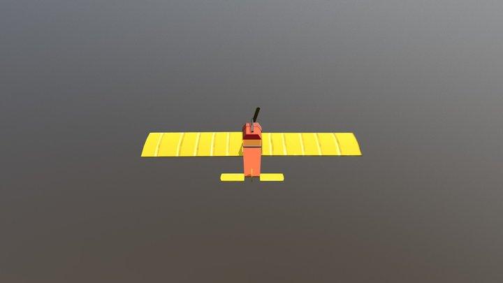 Plane GameArt2018 DAEHowest 3D Model