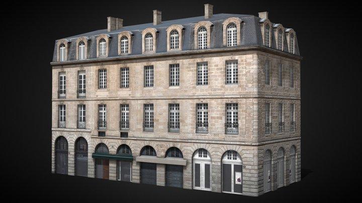 Bordeaux Flat 2 corner [France] 3D Model