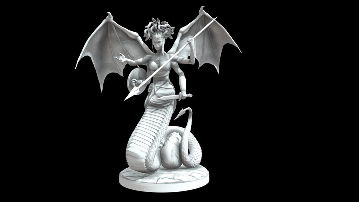 """""""Mother of Monsters"""" 3D Model"""