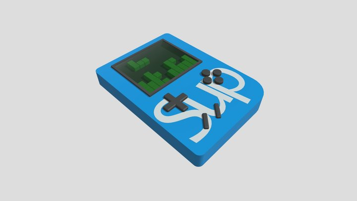 Minigame Sup 3D Model