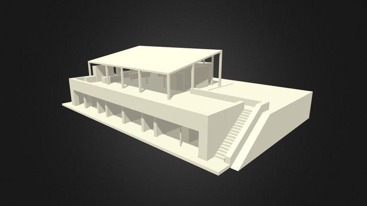CF estudio cubierta / version 1 3D Model