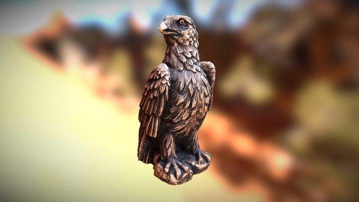 Wooden Eagle 3D Model