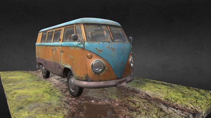 VW Bulik T1 3D Model