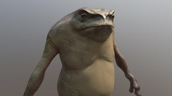 Gremlin Frog 3D Model