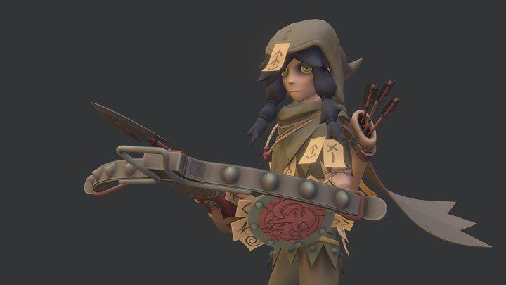 Raveneye (fanart) 3D Model