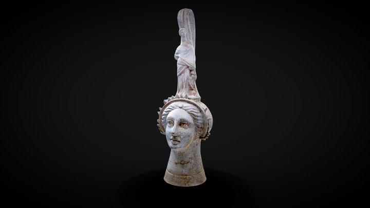 Greek Funerary Vase 3D Model