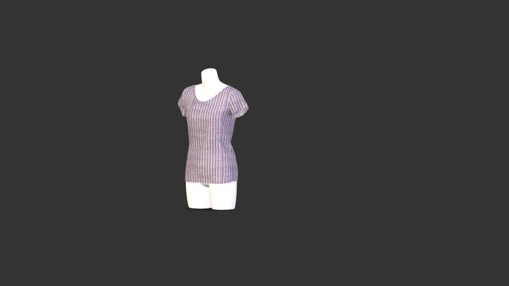 T shirt 3D Model