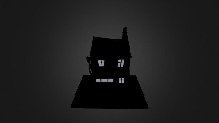Styalised Small shop  3D Model