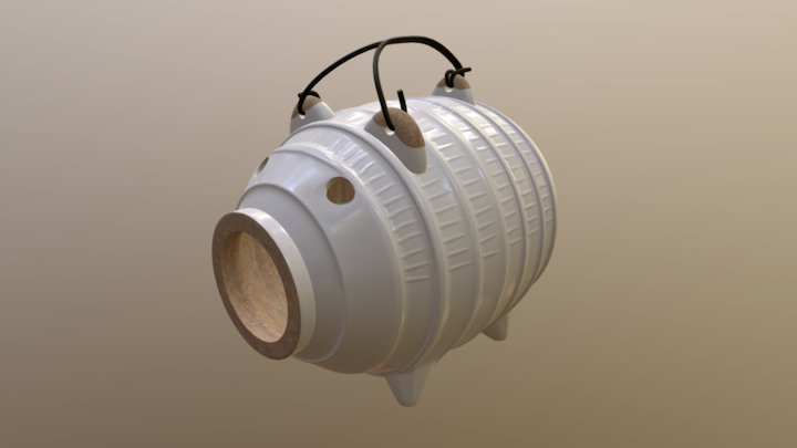 100% Authentic Japanese Mosquitocoil 3D Model