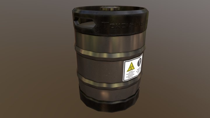 Keg 3D Model