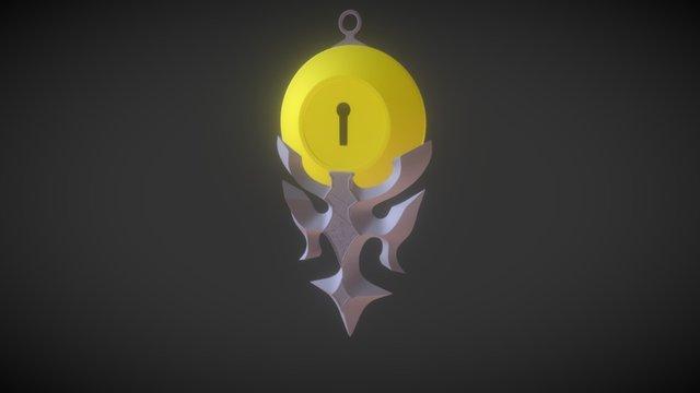 Locket Pendant (NISEKOI) 3D Model