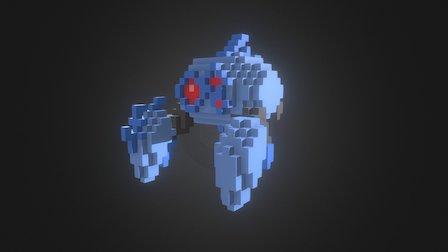 Derrick Crab Enemy 3D Model