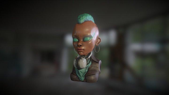 funk01 3D Model