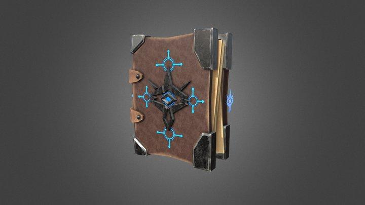 Arcane Spellbook 3D Model