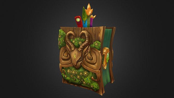 Magic Book 3D Model