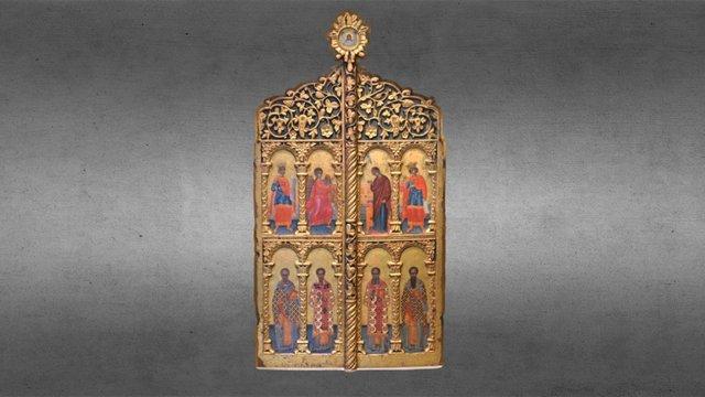 Royal Doors 3D Model