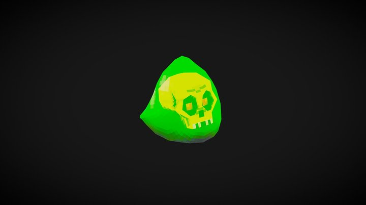 Slime Game Character 3D Model