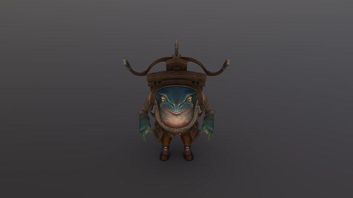 Mobile Dugg - Stylised Character 3D Model