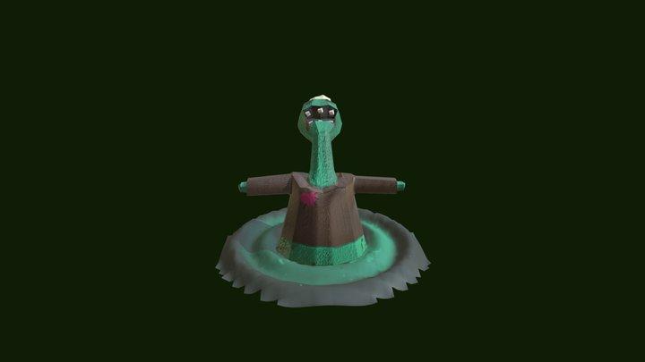 Monster Chef 3D Model