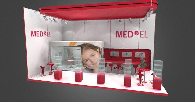 Visualisation 3D de Stands 3D Model