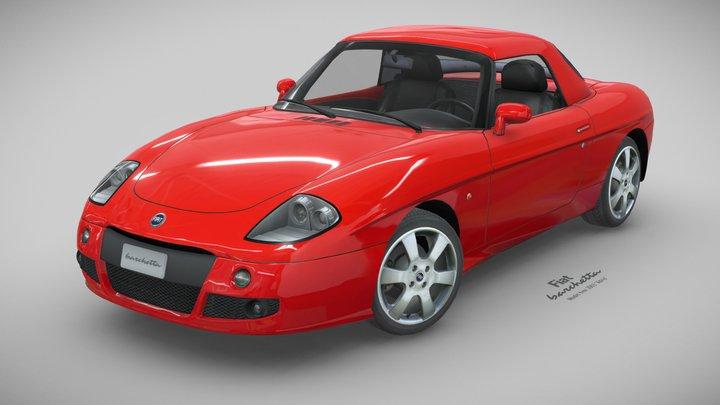 """Fiat Barchetta """"Adria"""", 2003 3D Model"""