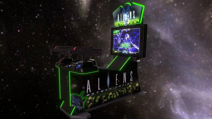 Alien Extermination (Joseph St.Arnault) 3D Model