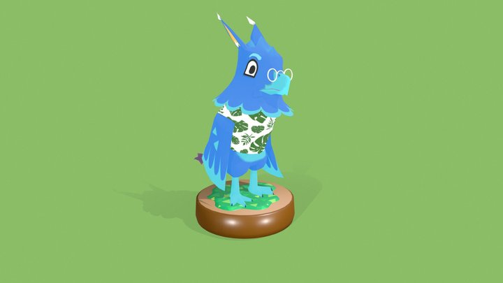 Tierney Toko - AC Style 3D Model