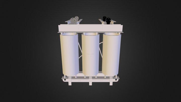 1000kVA Trafo 3D Model