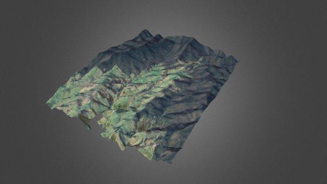 AU_VIC_Buchan_Holstons - 1 M LiDAR 3D Model