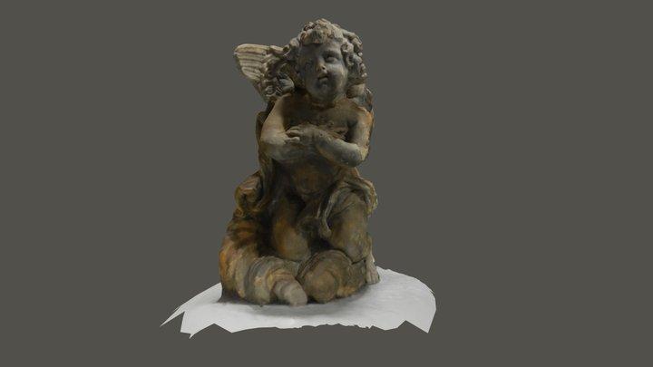 Engeltje van Sint-Niklaaskerk (Sint-Niklaas) 3D Model