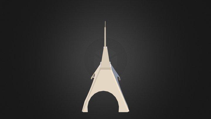 Tour Eiffel 3D Model