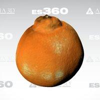 Orange, by Afinia ES360 3D Scanner 3D Model