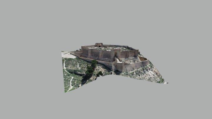 Castillo de Chinchilla de Montearagón 3D Model