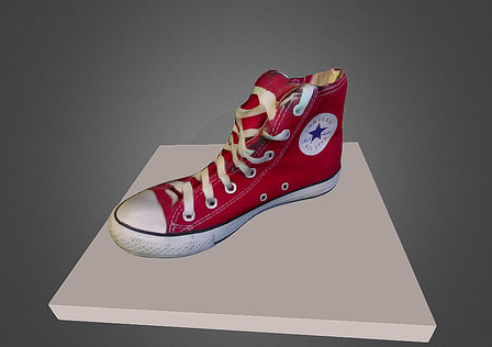 Cappasity. Shoes. 3D Model