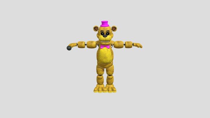 Fredbear-fnaf 3D Model