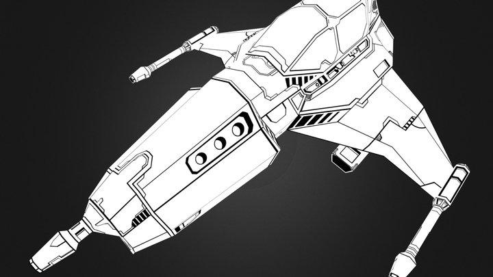 Station Fighter (WIP) 3D Model