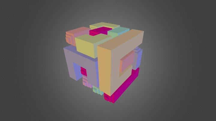 3D Tetris 3D Model