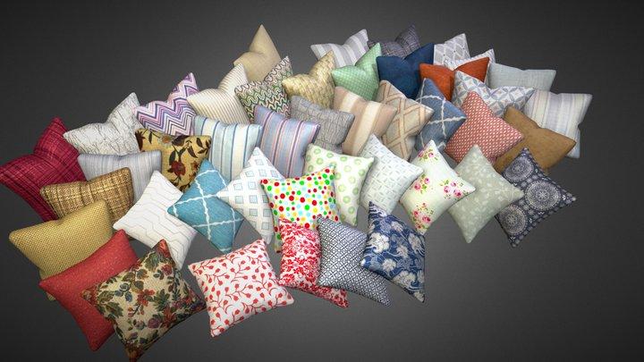 Pillows pack 3D Model