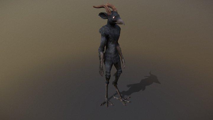 Talas Character (Naked) 3D Model