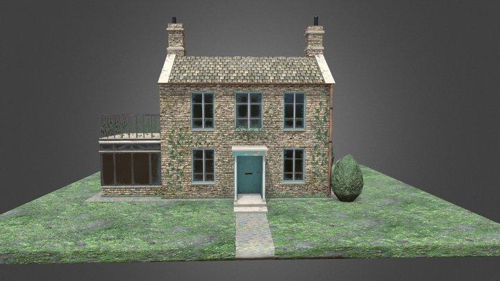 English Cottage 01 3D Model